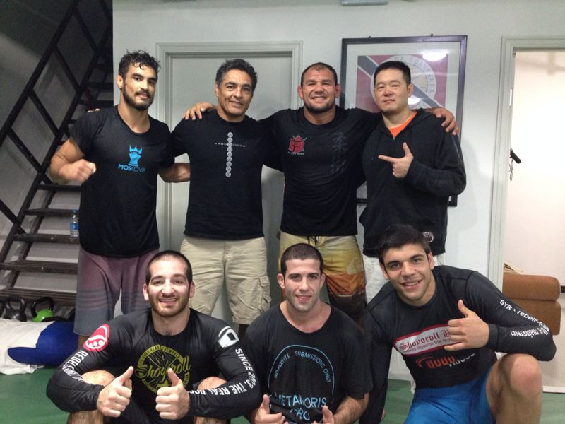 Training with the Gracie Family in Los Angeles - David Avellan
